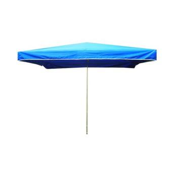 Slunečníky - Prodejní slunečník 3x2m modrý 10kg