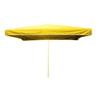Slunečníky - Prodejní slunečník 3x2m žlutý 15kg