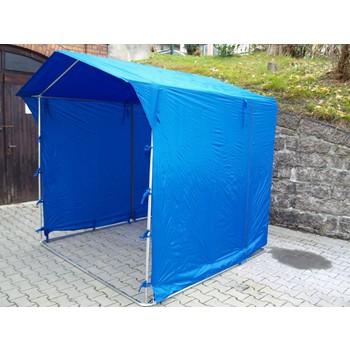 Prodejní stánky - Prodejní stánek 2 x 2 m - modrý