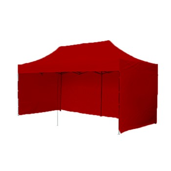 Párty stany Profesionál - Párty stan 3x6 Profesionál Plus - červený