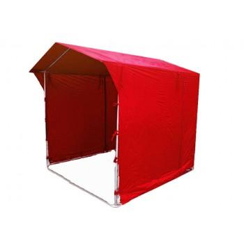 Prodejní stánky - Prodejní stánek 2 x 2 m - červený