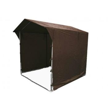 Prodejní stánky - Prodejní stánek 2 x 2 m - hnědý