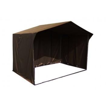 Prodejní stánky - Prodejní stánek 3x2 m - hnědý