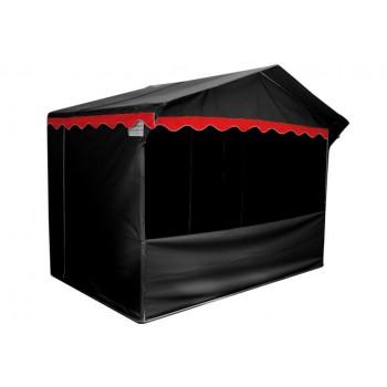 Prodejní stánky - Prodejní stánek 3 x 2 m Jarmark - černý