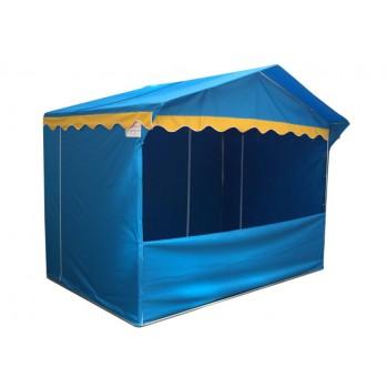 Prodejní stánky - Prodejní stánek 3 x 2 m Jarmark - modrý