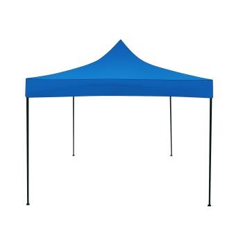 Příslušenství ke stanům - Střešní plachta pro nůžkový stan 3x3 - modrý