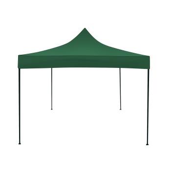 Příslušenství ke stanům - Náhradní střešní plachta pro nůžkový stan 3x3 - zelený
