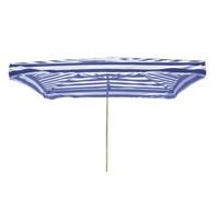 Prodejní slunečník 3x2m modrobílý 8kg