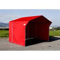 Prodejní stánek 3 x 2 m - červený