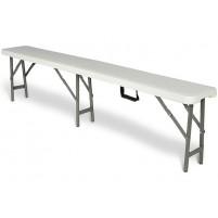 Cateringová lavička 180 cm - skládací