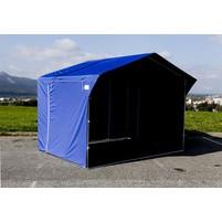 Prodejní stánek 3x2 m - modrý