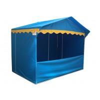 Prodejní stánek 3 x 2 m Jarmark - modrý